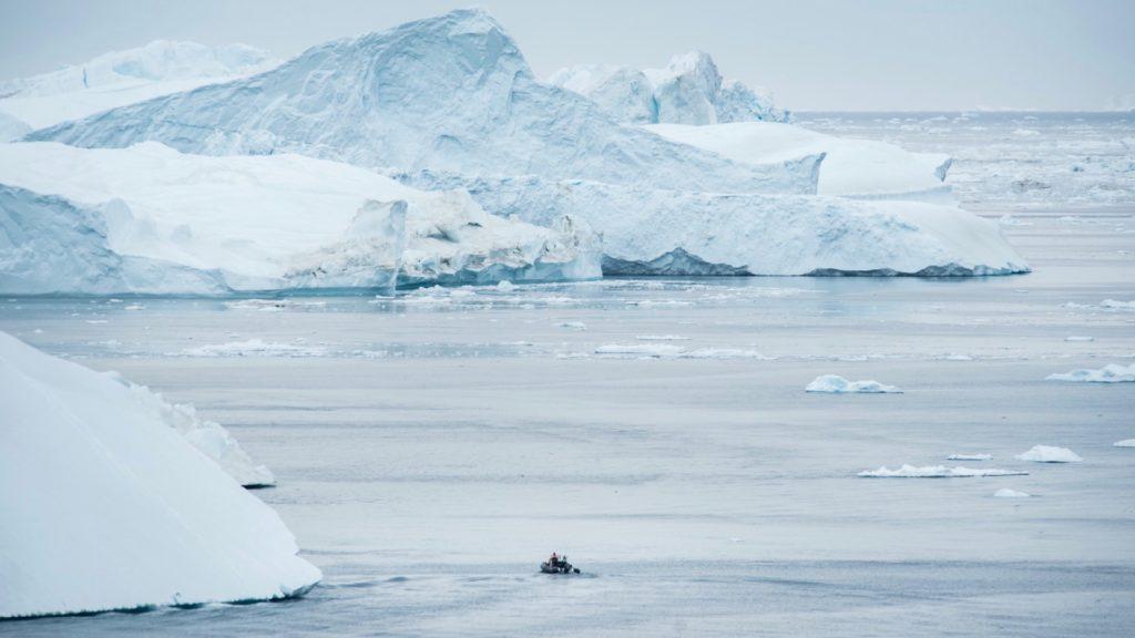 Isfjorden i Ilulissat, foto David D Grant